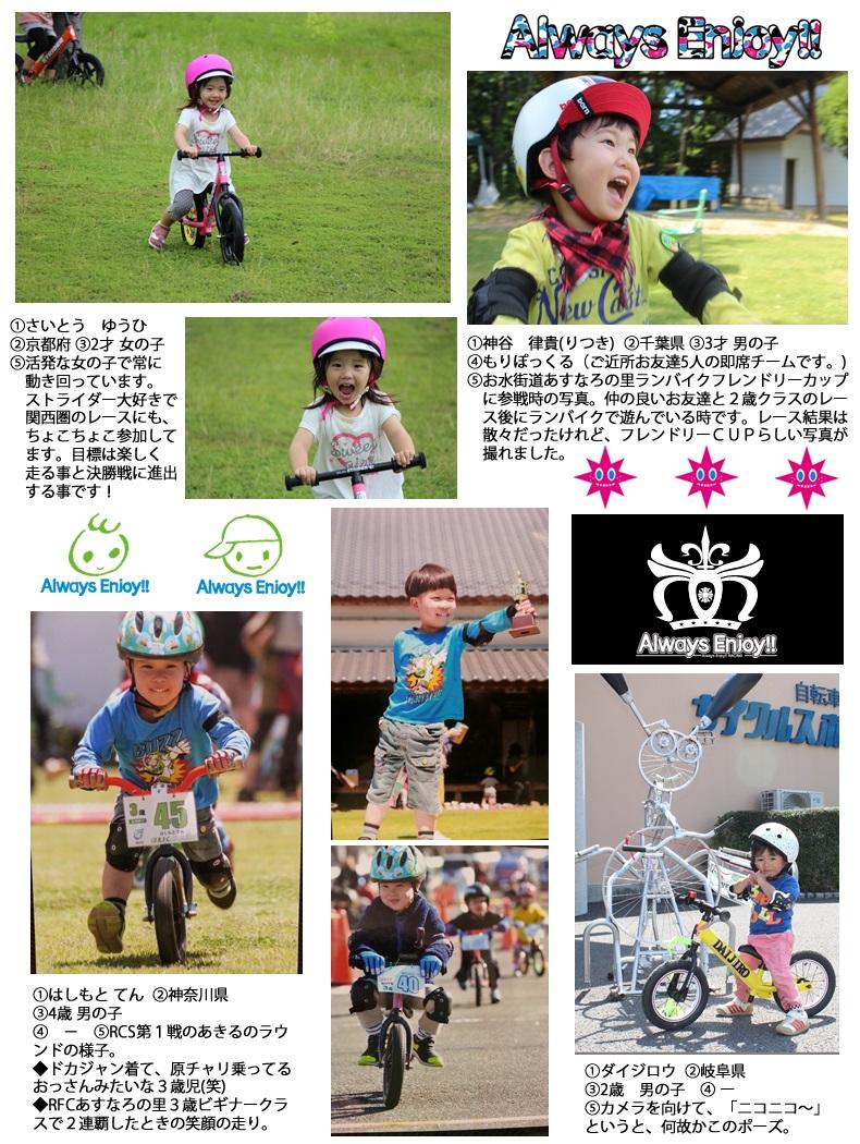 「STRIDER Kid's Smile PHOTOコンテスト2014 in Summer」応募作品 ストライダーカスタム、チャベス、bern、トミー、LAGP #09